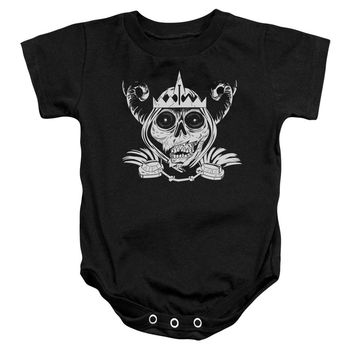 Adventure Time - Skull Face Infant Snapsuit Officially Licensed Baby Clothing