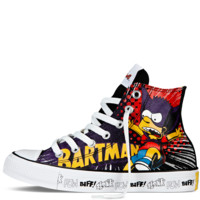Converse - The Simpsons Chuck Taylor All Star - Hi - Black / multi
