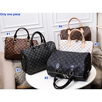 Louis vuitton fashion hot seller casual lady printed single shoulder duffel bag