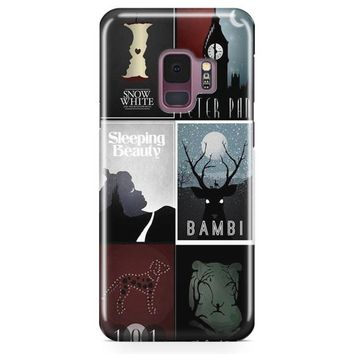Minimalist Disney Film Posters Samsung Galaxy S9 Plus Case | Casefantasy