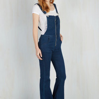 Boho Flare All for One, One for Overalls