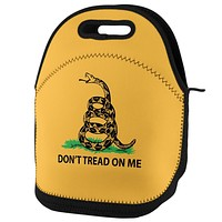 Don't Tread on Me Gadsden Flag Lunch Tote Bag