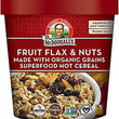 Dr. McDougall's Fruits Flax & Nuts Superfood Hot Cereal Made with Organic Grains - Pack of 6