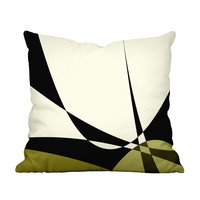 Joan Mid-Century Throw Pillow Cover