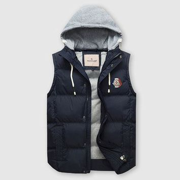 Moncler Fashion Down Vest Cardigan Jacket Coat Hoodie-1