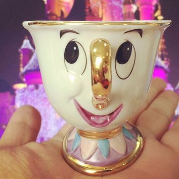 Old Style Beauty and the Beast Mrs Potts' son : Chip Only Mug Tea Coffee Cup Lovely Birthday CUTE Gift