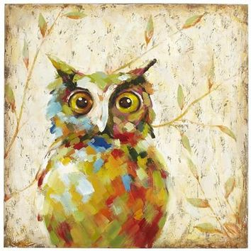 Quirky Owl Art