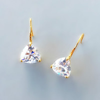 Ava Crystal Earrings