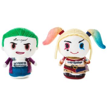itty bittys® Suicide Squad™ The Joker™ and Harley Quinn™ Stuffed Animals, Set of 2