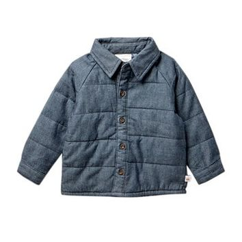 Rosie Pope | Quilted Chambray Shirt (Baby Boys) | Nordstrom Rack
