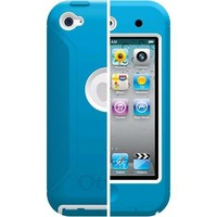 OtterBox Defender Series Hybrid Case for iPod touch 4th Generation (Blue/White)