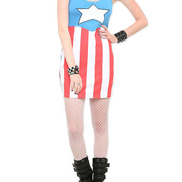Marvel Captain America Dress | Hot Topic