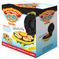 Smart Planet SPM2 Super Pretzel Maker Soft Pretzel in Minute