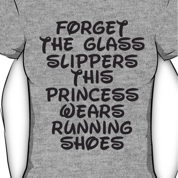 Forget The Glass Slippers, This Princess Wears Running Shoes Women's T