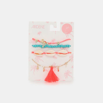 Pack of Shell Ankle Chains - Accessories | Ardene