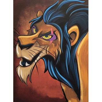 5D Diamond Painting Scar from Lion King Kit