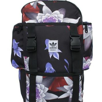 adidas Originals Backpack BP ASAGAO (LOTUS) PRINT from Japan 493617e7a02ba