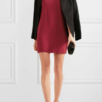 Reformation - Crepe mini dress