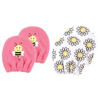 Luvable Friends Basic Scratch Mittens 2-Pack | Affordable Infant Clothing