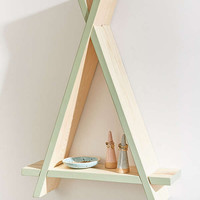 Gia Triangle Wood Wall Shelf | Urban Outfitters