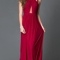 Long Faviana Prom Dress with Open Back
