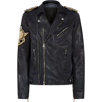 Balmain Double Zipped Biker Jacket