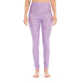 Cakes and Cats Legging