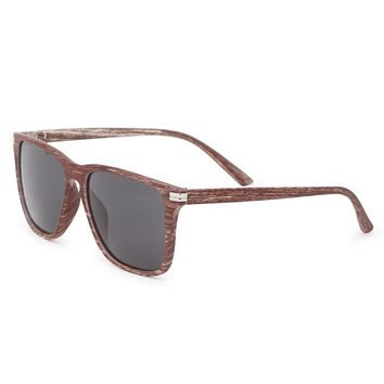 Pacsun Varsity Wood Sunglasses - Mens Sunglasses - Brown - NOSZ