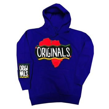Originals Motherland Hoodie in Blue