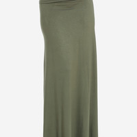 Olive Maxi Skirt in Skirts
