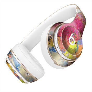 Paint Splatter Pattern Skin for the Beats By Dre Headphones