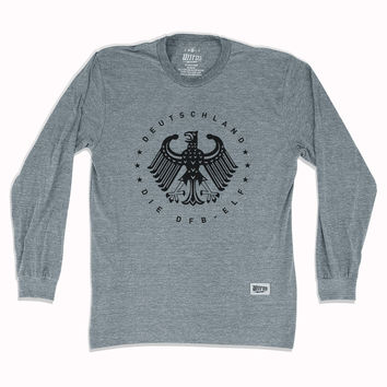 Germany Deutschland Eagle Long Sleeve T-Shirt