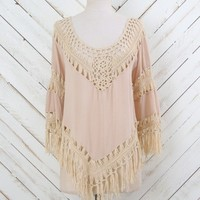 Altar'd State Way Crochet Top | Altar'd State