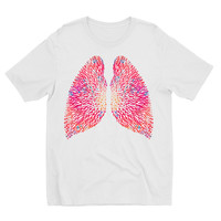 Human Lungs anatomy art t-shirt
