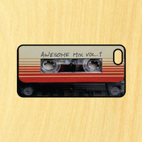Awesome Mix Guardians of the Galaxy Phone Case iPhone 4 / 4s / 5 / 5s / 5c /6 / 6s /6+ Apple Samsung Galaxy S3 / S4 / S5 / S6