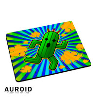 Running Cactus Mousepad Mouse Pads Auroid