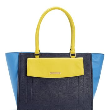 Regal Preppy Edge Leather Tote by Juicy Couture, No