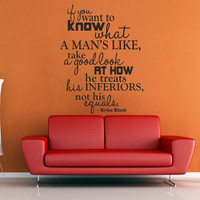 If You Want to Know a Man - Harry Potter Wall Decal