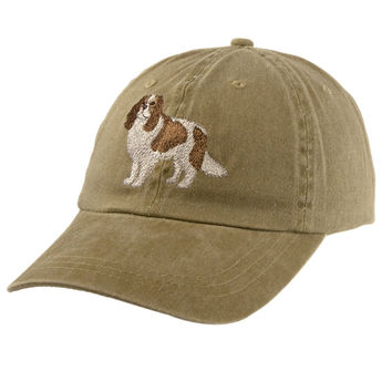 Cavalier King Charles Spaniel Adjustable Baseball Cap