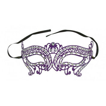 Kayso International Venetian Purple Mask