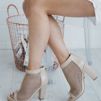skin shoes vice - nude