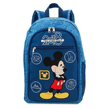 Disney Parks 2018 Walt Disney World Mickey Backpack New with Tags