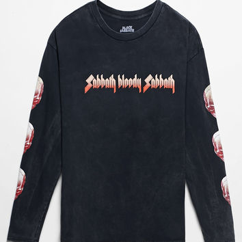 Black Sabbath Bloody Sabbath Long Sleeve T-Shirt at PacSun.com