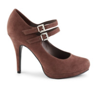 Xappeal Adrian Women's Shoe You're a dainty diva in the darling Adrian women's shoe from Xappeal. It's crafted using soft fabric and designed with two chic ankle straps, as well as a super-skinny heel.