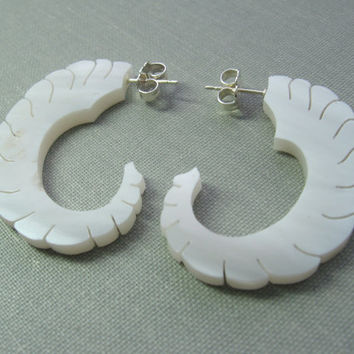 Ram Horn Earrings