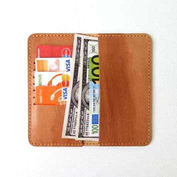 Long Leather Wallet 3-7 Slot Bifold Personalized Wallet Mens womens Leather Wallet Handmade card holder wallet slim FREE Add initials