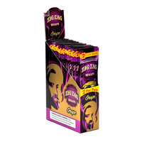 Zig Zag Wraps - Grape (Box of 50)