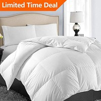 Utopia Bedding Lightweight Comforter, Ultra Soft Down Alternative (White, Twin) - All Season Comforter - Plush Siliconized Fiberfill Duvet Insert - Box Stitched- by