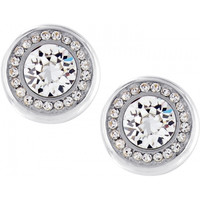 Brighton Versailles Suisses Post Earrings in Silver