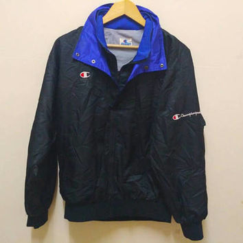 Champion windbreaker small pony logo Embroidery casual sports wear Tennis made in usa jaspo M
